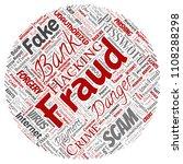 vector conceptual bank fraud...   Shutterstock .eps vector #1108288298