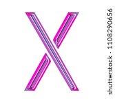 glowing neon pink   purple... | Shutterstock . vector #1108290656