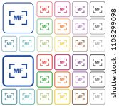 camera manal focus mode color... | Shutterstock .eps vector #1108299098