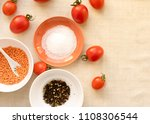 food background   spices  olive ...   Shutterstock . vector #1108306544