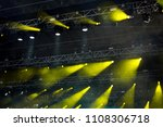 beam of stage light for live...   Shutterstock . vector #1108306718