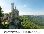 magnificent lichtenstein castle ... | Shutterstock . vector #1108347770