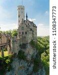 magnificent lichtenstein castle ... | Shutterstock . vector #1108347773