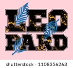 fashion design print on clothes ...   Shutterstock .eps vector #1108356263
