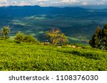 scene of plantation on tea... | Shutterstock . vector #1108376030