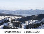 Scenic View Of Lake Tahoe From...