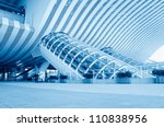 modern international airport... | Shutterstock . vector #110838956
