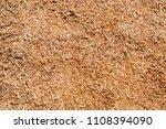 freshly sawdust or wood dust... | Shutterstock . vector #1108394090