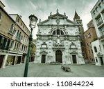 Venice dark scene - stock photo