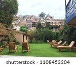weekend getaway in peru | Shutterstock . vector #1108453304