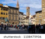 florence  italy  april 10  2010 ... | Shutterstock . vector #1108475936