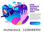 business infographics  business ... | Shutterstock .eps vector #1108488500