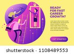 business infographics  business ... | Shutterstock .eps vector #1108489553