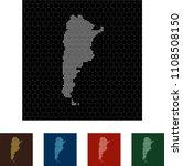 map of argentina   Shutterstock .eps vector #1108508150
