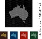 map of australia   Shutterstock .eps vector #1108508174