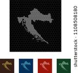 map of croatia   Shutterstock .eps vector #1108508180