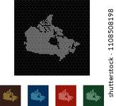 map of canada   Shutterstock .eps vector #1108508198