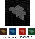map of belgium   Shutterstock .eps vector #1108508210