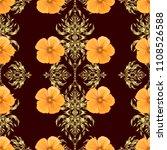 beautiful vector seamless... | Shutterstock .eps vector #1108526588