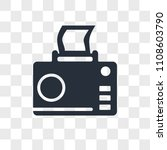 photograph vector icon isolated ...   Shutterstock .eps vector #1108603790