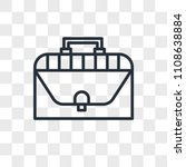 briefcase vector icon isolated...   Shutterstock .eps vector #1108638884