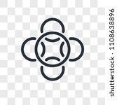 loyalty vector icon isolated on ... | Shutterstock .eps vector #1108638896