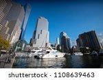 the north cove marina in... | Shutterstock . vector #1108639463