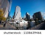 the north cove marina in... | Shutterstock . vector #1108639466
