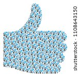 poll shape created from...   Shutterstock .eps vector #1108643150