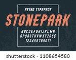 stonepark trendy vintage...   Shutterstock .eps vector #1108654580