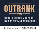 outrank trendy vintage display... | Shutterstock .eps vector #1108654583