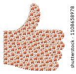good solution composition... | Shutterstock .eps vector #1108658978