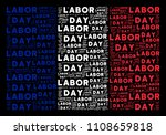 france flag concept composed of ... | Shutterstock .eps vector #1108659818