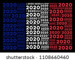 french flag composition... | Shutterstock .eps vector #1108660460