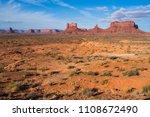 monument valley  utah  usa | Shutterstock . vector #1108672490