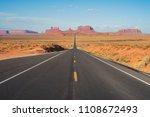 forrest gump point  utah  usa | Shutterstock . vector #1108672493