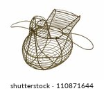 chicken egg basket wings open | Shutterstock . vector #110871644