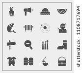 modern  simple vector icon set...   Shutterstock .eps vector #1108717694