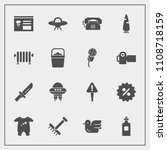 modern  simple vector icon set... | Shutterstock .eps vector #1108718159