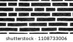 texture stained old black of... | Shutterstock . vector #1108733006