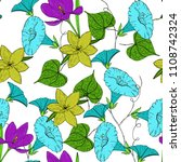 vector colored pattern with... | Shutterstock .eps vector #1108742324