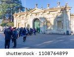 rome  italy   january 1  2017 ... | Shutterstock . vector #1108764899