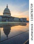 capitol building  washington dc ... | Shutterstock . vector #1108783739