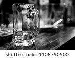 glass beverage drinker... | Shutterstock . vector #1108790900
