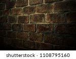 wall brick texture background... | Shutterstock . vector #1108795160
