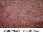old brown leather texture... | Shutterstock . vector #1108814069