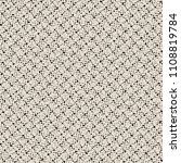 thick fabric with grid texture. ... | Shutterstock .eps vector #1108819784