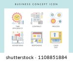 business concept illustration... | Shutterstock .eps vector #1108851884