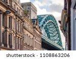 Tyne Bridge With Traditional...