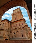 estense medieval castle in... | Shutterstock . vector #1108866794